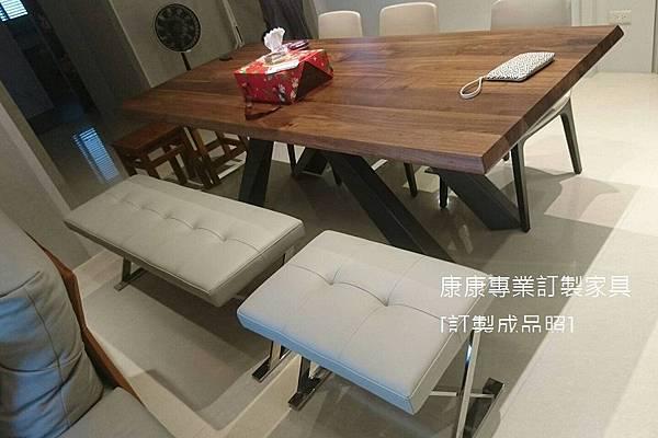 PATHOS款型椅凳半苯染皮-2