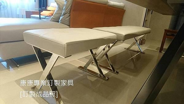 PATHOS款型椅凳半苯染皮-1