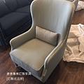 新古典風格單椅-1