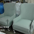 新古典風格單椅-3