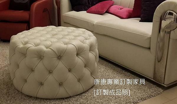圓形腳椅-2