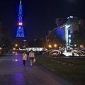 夜晚的電視塔
