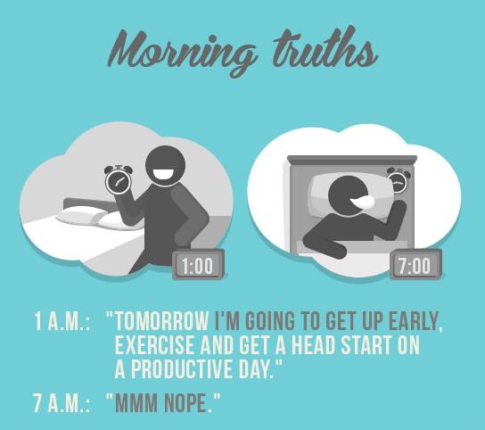 9個為什麼起床這麼難的中肯理由1