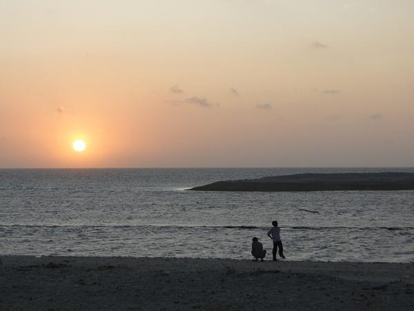 落日-澎湖吉貝