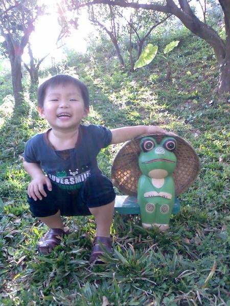 """偶才是真正的""""青蛙王子"""""""