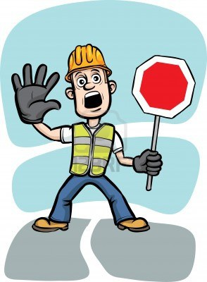 11058811-cartoon-worker-warning-with-stop-sign