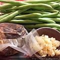 四季豆拌牛腱的材料