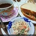 馬鈴薯沙拉當早餐、下午茶都很不錯