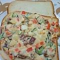 馬鈴薯沙拉夾土司