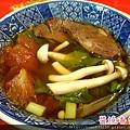 趁熱喝一碗牛肉蕃茄湯吧!