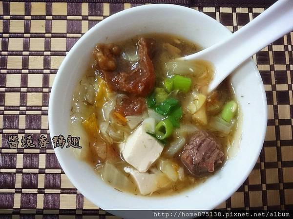 牛肉豆腐什錦羹