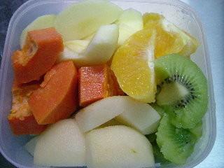 鮮艷的水果