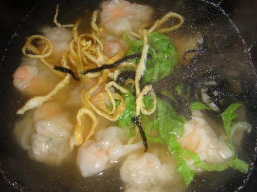 蝦餛飩湯小