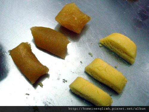 鳳梨酥皮及餡
