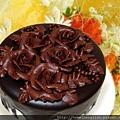 巧克力玫瑰蛋糕2