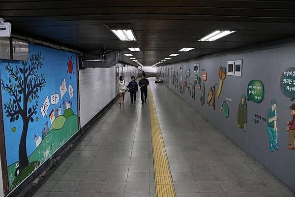 首爾車站地下道