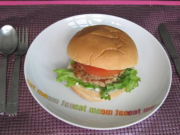 簡易美式漢堡