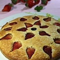 清新版花開富貴:草莓蛋糕