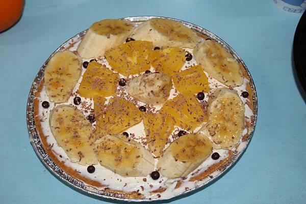 香蕉巧克力水果塔