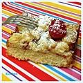 Raspberry Crumble Bar 3