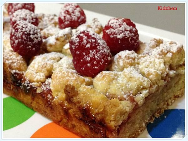 Raspberry Crumble Bar 4
