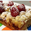 Raspberry Crumble Bar 4