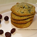 Lemon Cranberry Oatmeal Cookies 2