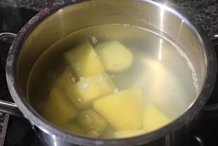 水煮馬鈴薯