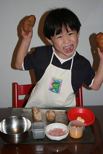Zach說我才是大廚呢