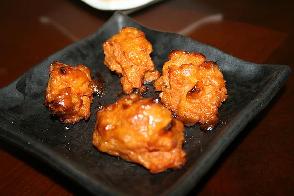 燒蕃薯 on the plate