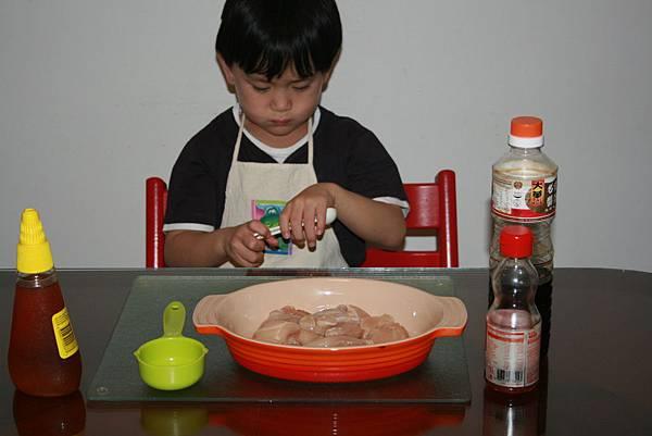 小小大廚準備中