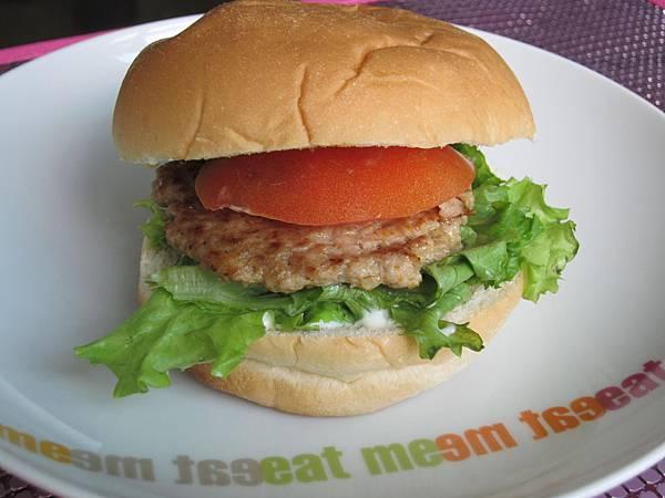 美式簡易漢堡