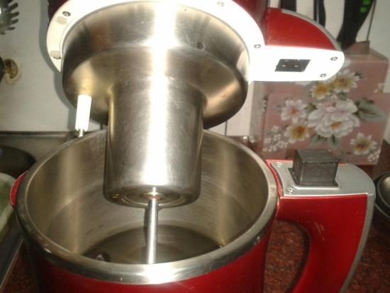 豆漿研磨機內部構造