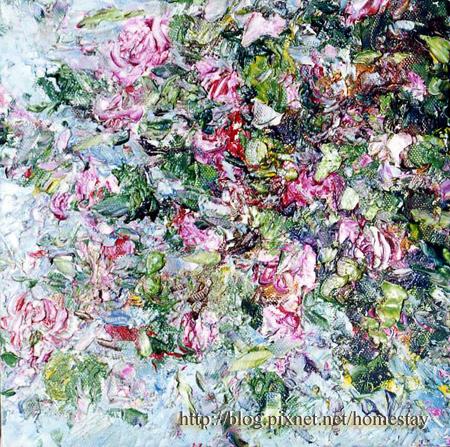 作品名稱-花卉系列(羊蹄甲)
