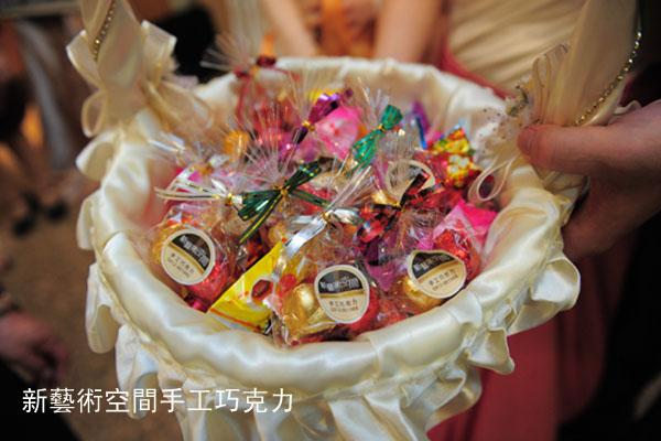 婚禮巧克力1