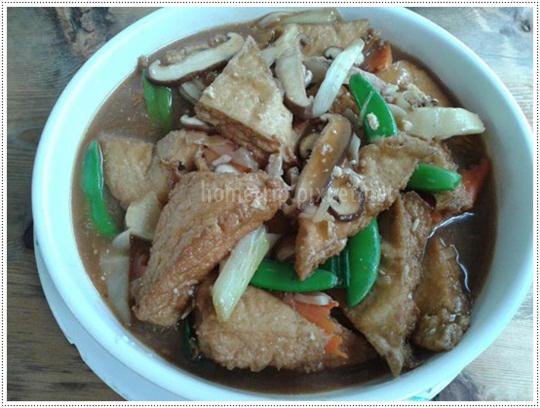 松竹園豆腐