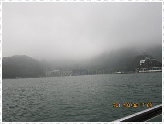 日月潭湖水風景