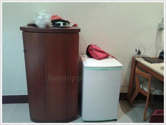 中華電信陽明山會館內部設備冰箱