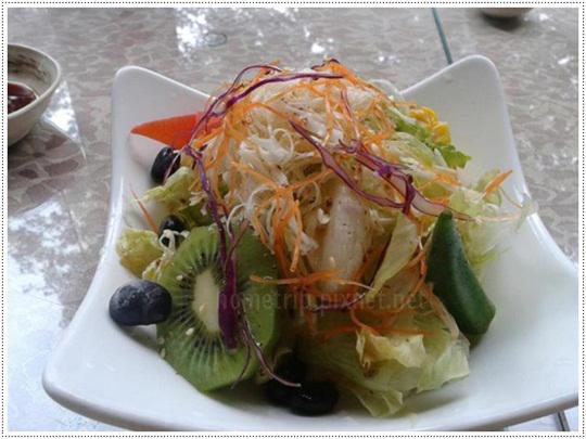 山櫻訪和風生菜水果沙拉