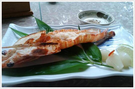 山櫻訪烤蝦