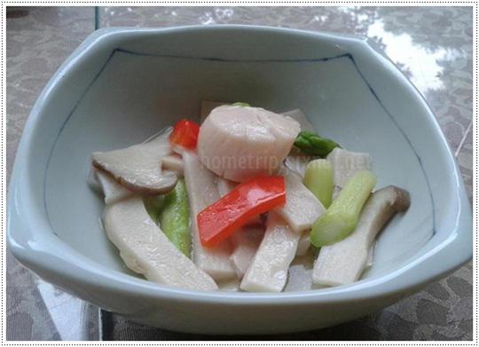 山櫻訪餐廳干貝杏鮑菇