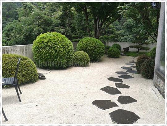 山櫻訪懷石料理庭園景觀