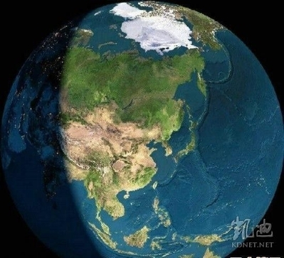太空衛星拍攝到恐怖的中國地圖