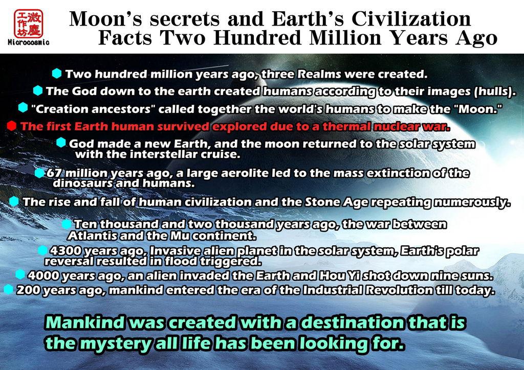 二億年文明史 原稿 海報 不周山 A001