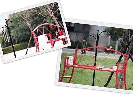 公園椅室外拼貼PH