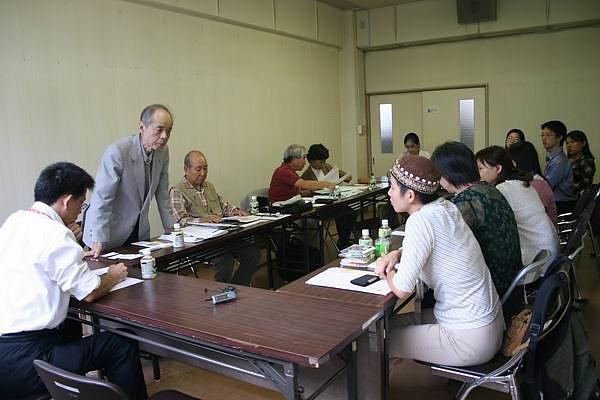 NALC 東京分部的交流會議中