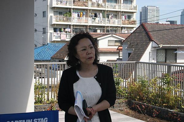 三個機構的總負表人 清子小姐