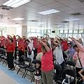 4活動第一個節目邀請大家來跳健康操