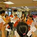 1活動開始前與企業志工做分工說明