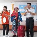 竹義社區理事長的媽媽也出國回來啦!!